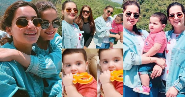 Aiman and Minal Beautiful New Pictures with Amal