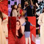 Beautiful Clicks of Hina Altaf and Agha Ali From Good Morning Pakistan
