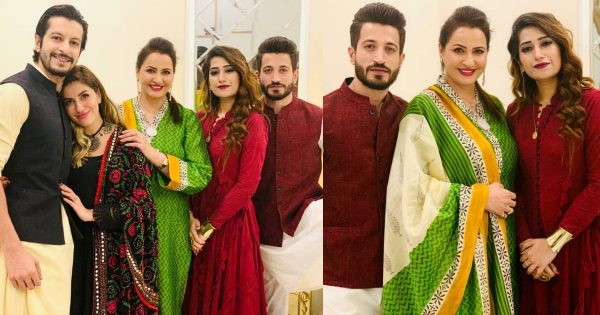 Happy Family Pictures Of Actress Saba Faisal