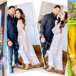 Eid Pictures of Saniya Shamshad with her Husband