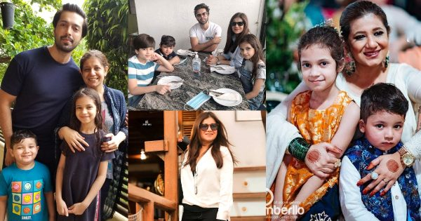 Fahad Mustafa Latest Pictures with Family