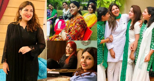 Beautiful Picture Collection of Shagufta Ejaz with her Daughters