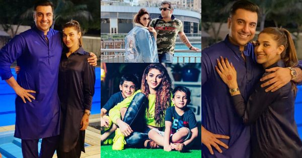 Beautiful Clicks of Sana Fakhar with Her Husband