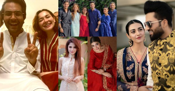 Beautiful Pictures of Pakistani Celebrities from Eid ul Adha 2020 Day 2