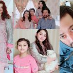 Beautiful Eid Pictures of Javeria and Saud with Family