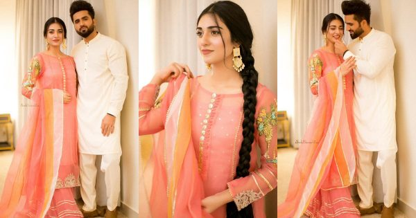Sarah Khan and Falak Shabbir Eid Day 3 Beautiful Pictures