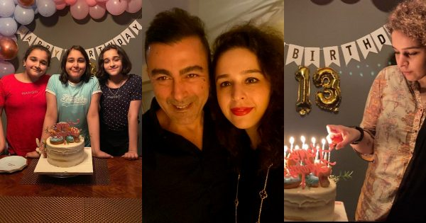 Beautiful Birthday Pictures of Actor Shan Shahid Daughter