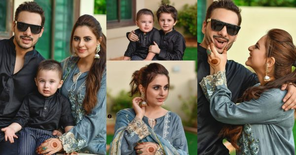 Eid Day 2 Pictures of Fatima Effendi and Kanwar Arsalan with Family