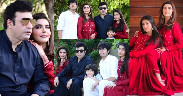 Nida and Yasir nawaz Eid Second Day Pictures with Family