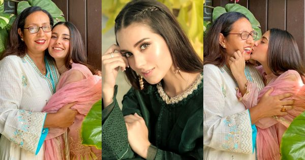 Beautiful Clicks of Iqra Aziz with her Mother