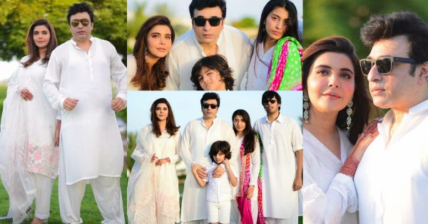 Nida and Yasir Nawaz Eid Third Day Pictures with Family