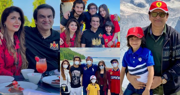 Latest Pictures of Drama Producer Abdullah Kadwani with his Family