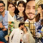 Ahmed Godil Spotted with his Wife at Sanam Baloch House for Dinner