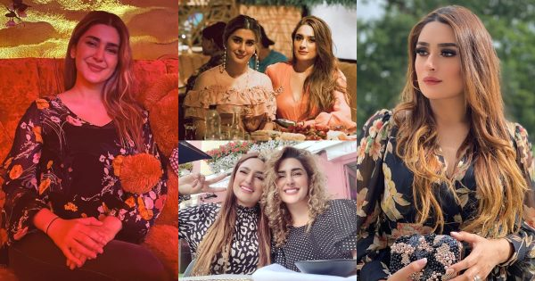 Beautiful Clicks of Kubra Khan with her Sister from London