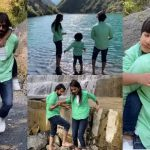 Beautiful Pictures of Bilal Qureshi And Uroosa With Their Sohan In Nathia Gali