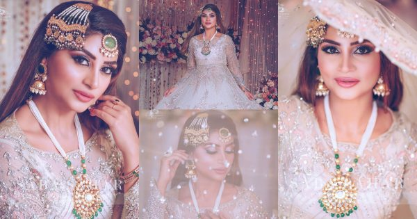 Latest Bridal Photo Shoot of Actress Zoya Nasir
