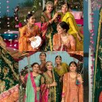 Beautiful Mehndi Dress Photo Shoot of Ayeza Khan for Ansab Jahangir
