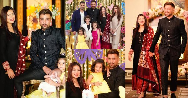 Beautiful Clicks of Cricketer Muhammad Amir Daughter Birthday