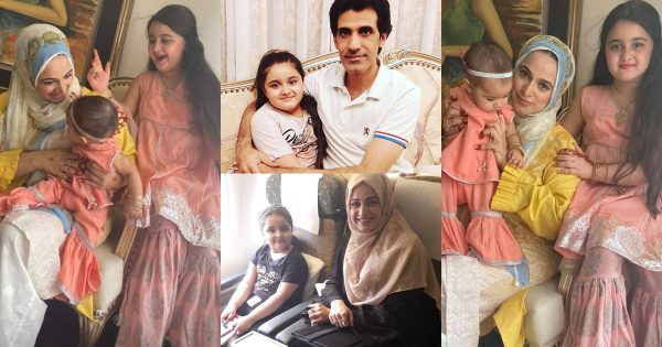 Latest Pictures of Noor Bukhari with her Husband and Daughters