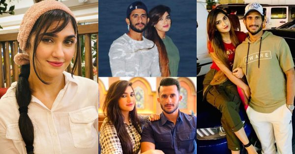 Latest Pictures of Cricketer Hassan Ali with his wife Samyah