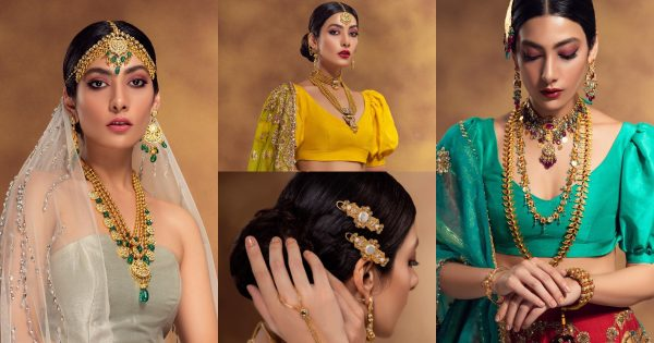 Model and Actress Eman Suleman Latest Beautiful Shoot for Shafaq Habib Jewelry