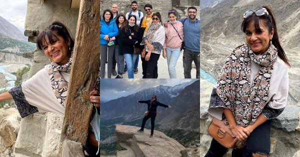 Beautiful Pictures of Frieha Altaf with friends from Hunza