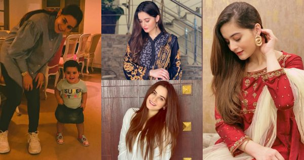 Gorgeous Aiman Khan Beautiful Clicks from her Instagram