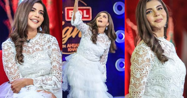 Beautiful Clicks of Nida Yasir From Bol Nights With Ahsan Khan Show