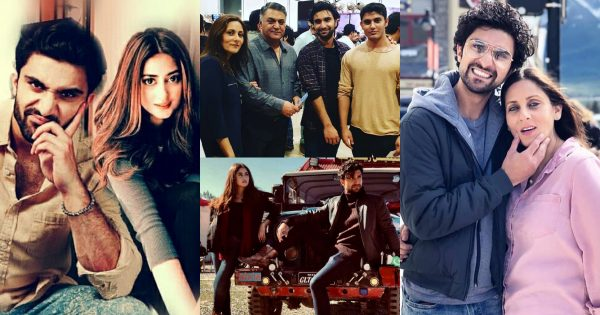 Beautiful Latest Pictures of Ahad Raza Mir with Family