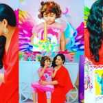 Beautiful Birthday Pictures of Veena Malik Daughter Amal