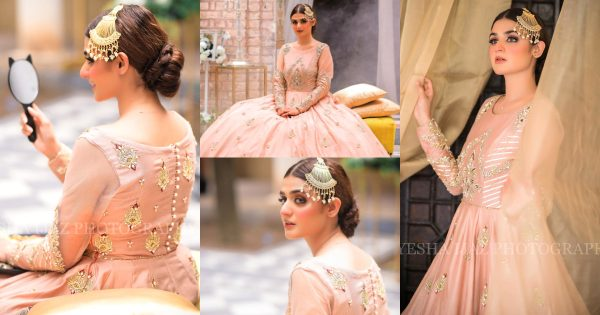 Hira Mani Looks Stunning in Her Latest Bridal Shoot