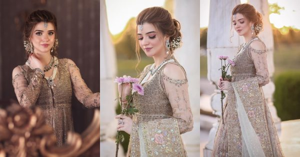 Rea Moammar Rana Looking Gorgeous in Her Latest Bridal Shoot