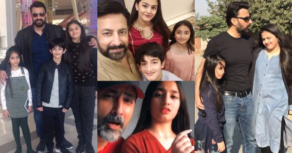 Actor babar Ali Beautiful Family Pictures