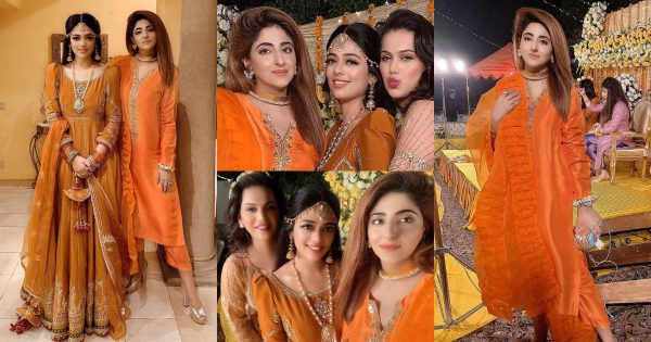 Beautiful Clicks of Fatima Sohail from a Recent Wedding of her Friend