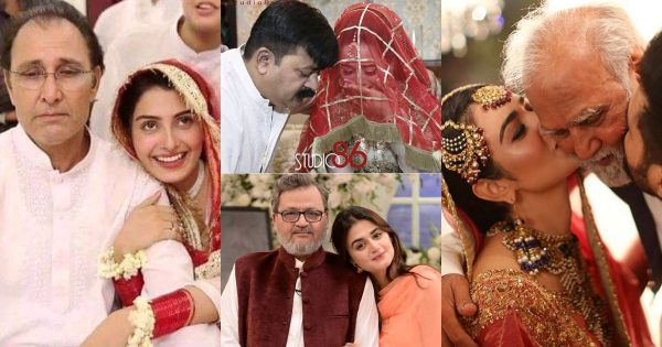Pakistani Actresses Who Are So Close To Their Fathers