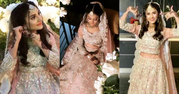 Social Media Viral Nimra Ali Pictures from the Set of her Bridal Photoshoot