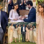 Actress and Model Rehmat Ajmal Engagement Pictures