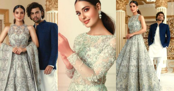 Beautiful Pictures of Iqra Aziz and Farhan Saeed From Latest Shoot for Zubia Zainab