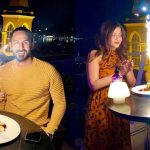Actor Shan Baig Birthday Pictures with Wife Michelle in Istanbul