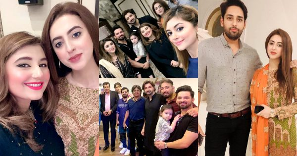 Beautiful Pictures of Celebrities From Javeria Saud House for Dinner Party