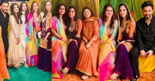 Beautiful Pictures of Hira and Mani from Dholki of their Friend