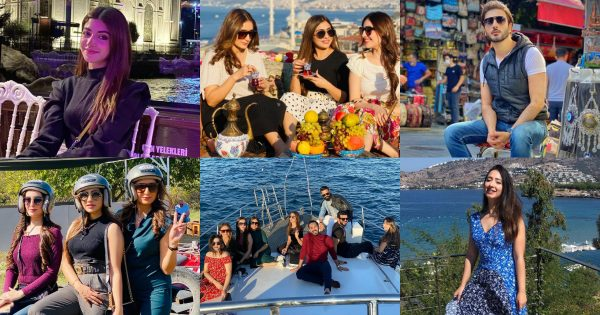 Beautiful Pictures of Pakistani Celebrities Enjoying Vacations in Turkey