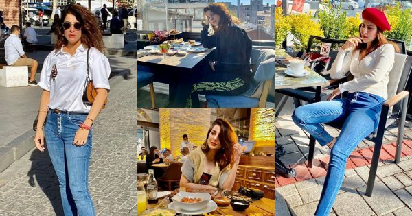 Beautiful Pictures of Actress Areeba Habib from Her Trip to Turkey