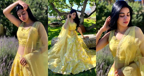 Latest Pictures of Actress Anmol Baloch in Beautiful Yellow Dress