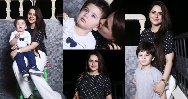 Latest Beautiful Pictures of Fatima Effendi with her Sons