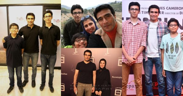 Actor Farhan Ali Agha with his Wife and Kids – Beautiful Pictures