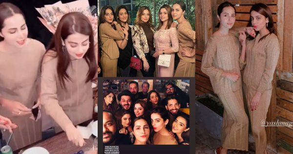Beautiful Pictures of Actress Yashma Gill Birthday Party