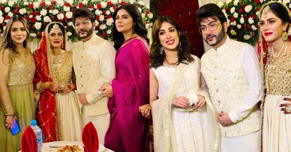 Beautiful Pictures of Celebrities from Akif Ilyas Nikkah Ceremony