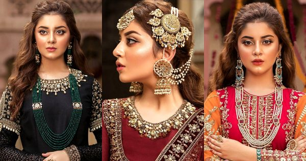 Beautiful Latest Shoot of Alizeh Shah for Maria.B Jewelry Collection
