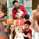 Latest Photos of Muneeb Butt with her Cute Daughter Amal